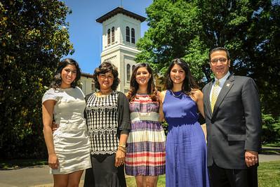 President Samhat & Family