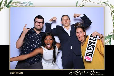 AaLeiyah & Broc's Wedding - August 31, 2019