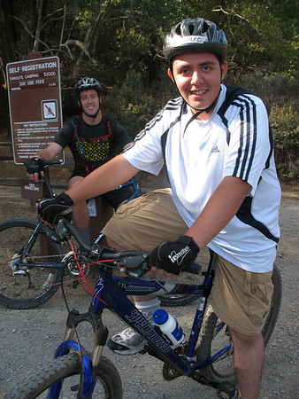 Unity Mountain Bike Experience at China Camp, Marin County (10/18/08)