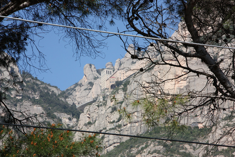 Montserrat.  A day trip from Barcelona and totally awesome.