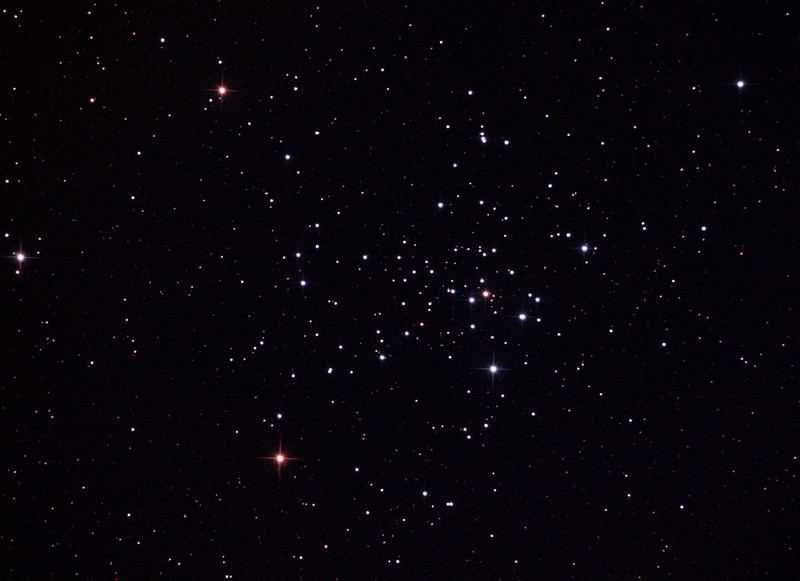 Caldwell 96 - NGC2516 - The Diamond Cluster - 28/1/2013 (Processed cropped stack - GSO Coma Corrector test under Waning Gibbous Moon)