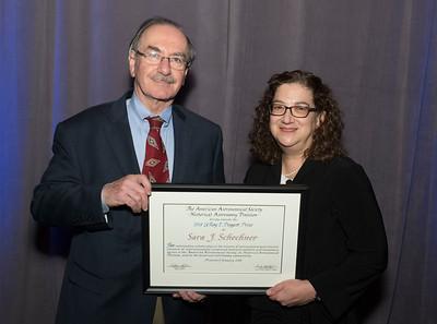 HAD Doggett Prize: Sara Schechner