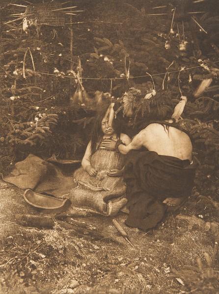 Twin Child Healer - Koskimo (a) (The North American Indian, v. X. Norwood, MA: The Plimpton Press, 1915)