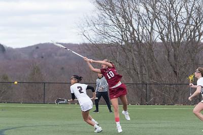 4/18/18: Girls' Varsity Lacrosse v Loomis Chaffee