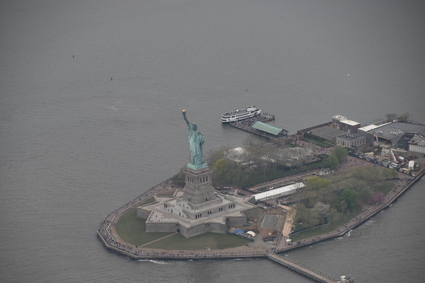 Aerials of New York City
