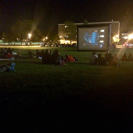 Outdoor Movie Night  8/26/15