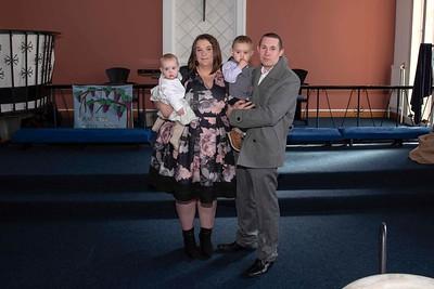 Greyson & Valeesha's christening
