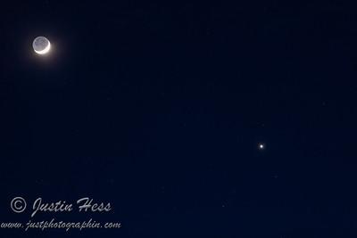 Moon, Venus, and Neptune 01-28-2020