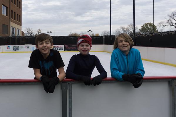Guy's 12 th Birthday Ice Skating