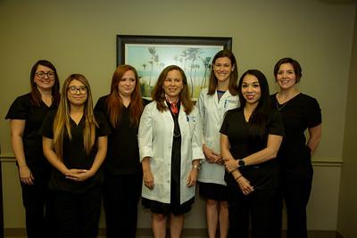 Dr Fleischi with Staff