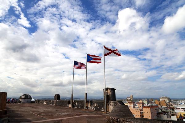 San Juan, 2013, Eastern Caribbean cruise
