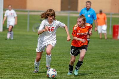 Girls JV Soccer - 5/18/2018 Ludington