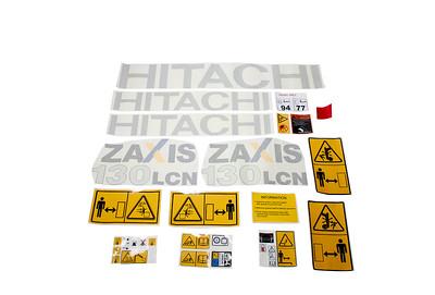 HITACHI ZAXIS ZX 130 - 3 LCN SERIES DECAL SET