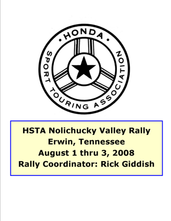 2008 NOLICHUCKY VALLEY RALLY