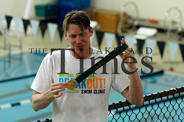 Olympic Swimmer Josh Davis at Lakeland