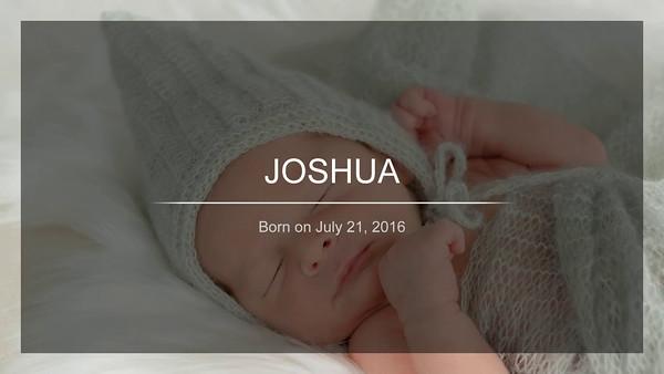 JOSHUA - VIDEO