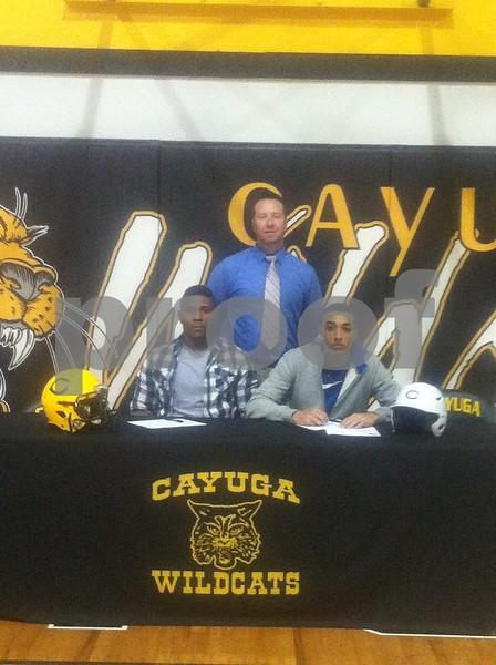 Cayuga signings