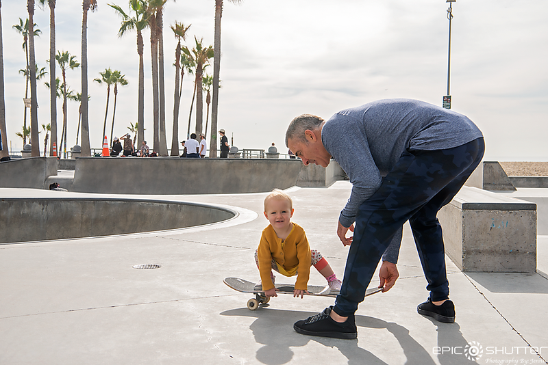 December 10, 2019 Garrett McNamara,  featuring Theia McNamara, Jeff HO, Mason Silva, Venice Beach Skate Park, Venice Beach, California, Los Angeles, Epic Shutter Photography, California Photographer