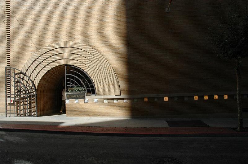 著名建築師Frank Lloyd Wright設計的Folk Art International Gallery