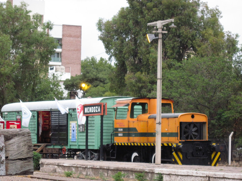 Old Train in Mendoza