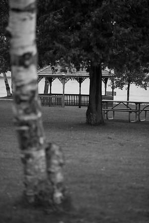 Mackinaw City Wedding Bridge View Gazebo Photography | Savannah + Garnet