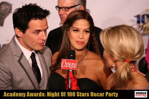 "02.27.11  02.27.11 21st Annual ""Night of 100 Stars"" broadcast live on FoxNews.com by Venice Beach's Red Carpet Host Tamara Henry."
