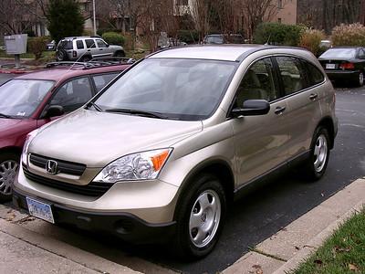 My New Honda CR-V