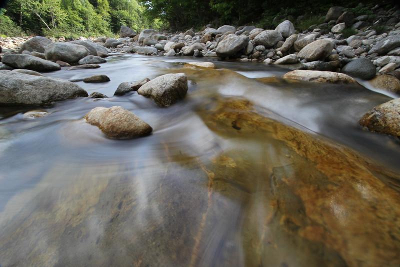 Wild River at White Mountain New Hampshire