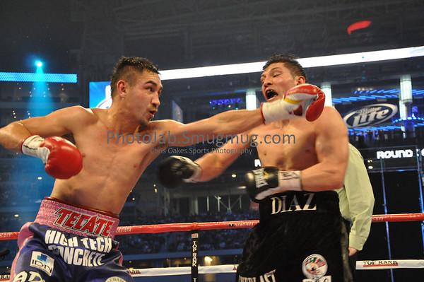 David Diaz vs Humberto Soto March 13,2010, Cowboys Stadium, Arlington, Texas