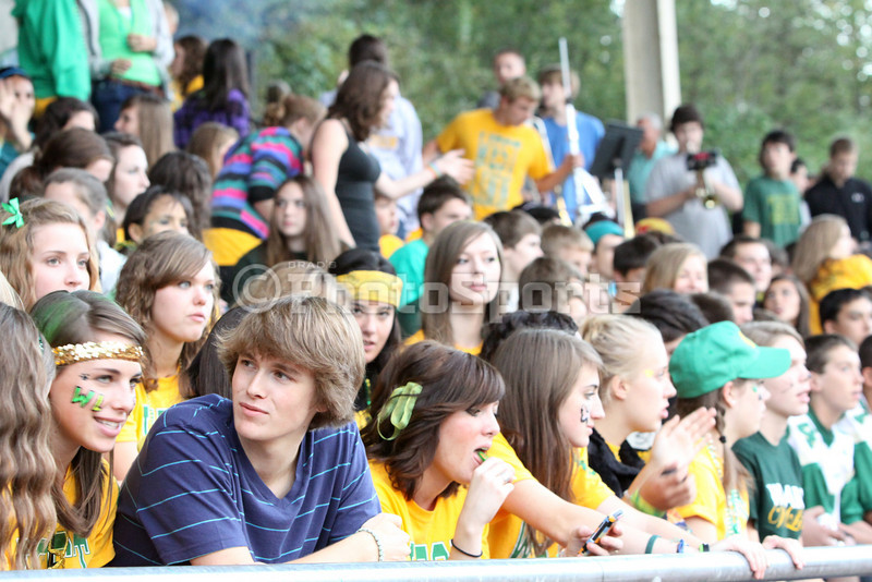 West Linn vs Oregon City Varsity Football Homecoming 2010