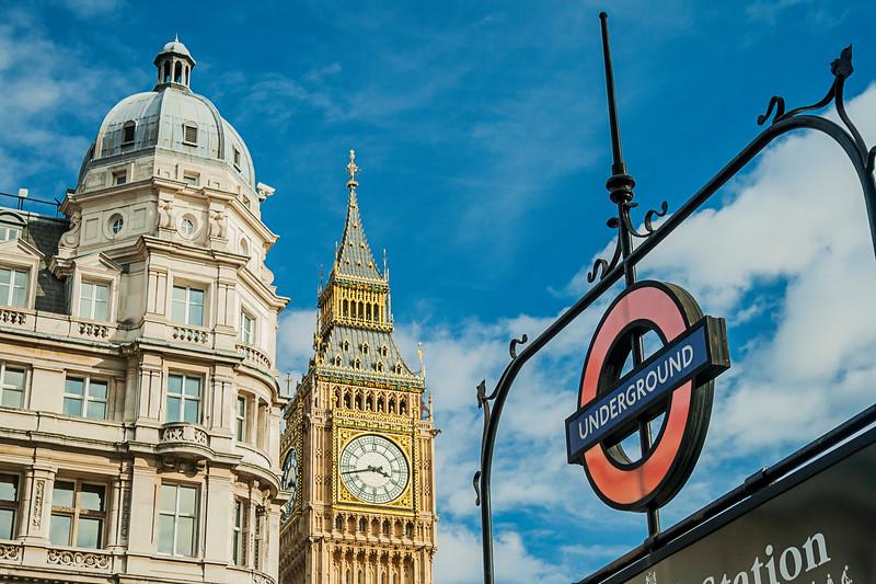 Big Ben At Westminster