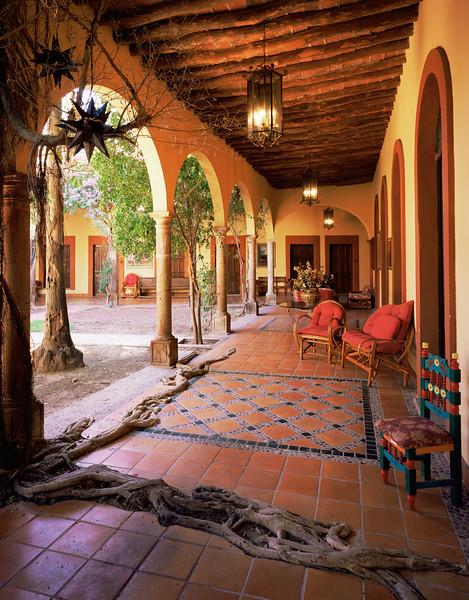 Kino Missions, San, MEX/Ignacio de Caburica, ancient cracked bell over looking village.    2/87v
