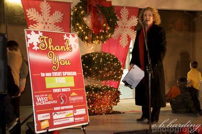 West Sacramento Chanber of Commerce Santa Event