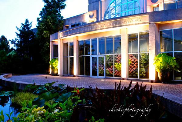 Botanical Gardens and Lights