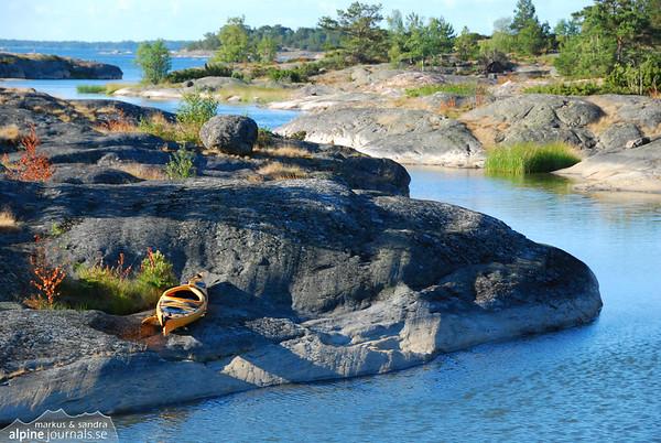 Ingarö Kayaking, Stockholm Archipelago 2008