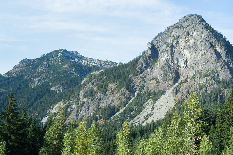 Washington's Cascade Mountain Range demonstrates some of the same rugged wilderness as Alaska