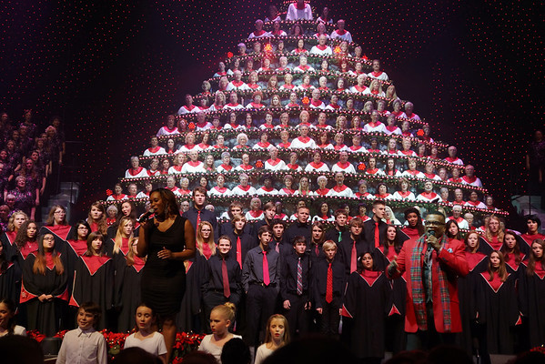 Singing Christmas Tree 2013