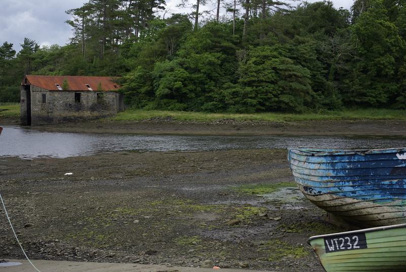 Low Tide<br /> Old Boat house - Westport, Ireland