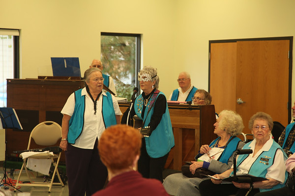 Senior Center Grounds and lunchtime Serenade