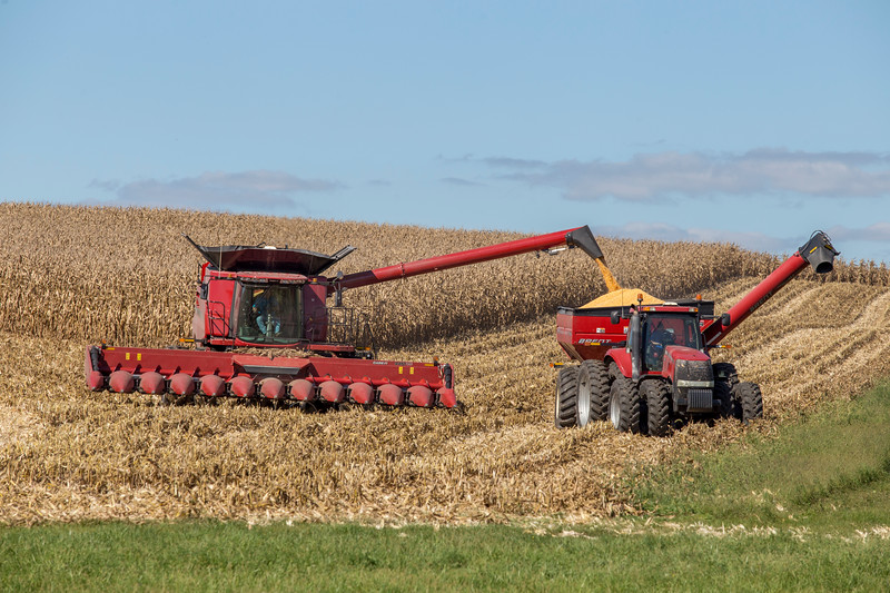 Harvest in Jackson County