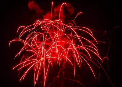 Fireworks Evansville and Newburgh