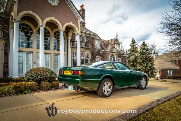 Farhad Azima 1989 Aston Martin Virage