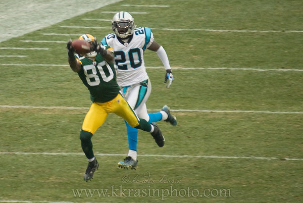 Packers vs. Panthers 2008