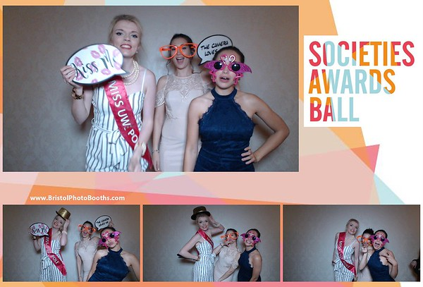 Societies Awards Ball 2017