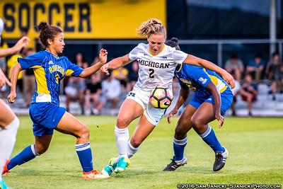 9-9-16 Michigan Women's Soccer Vs UCR