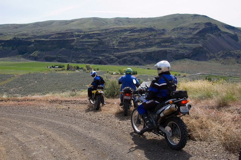 The final drop into Moses Coulee.