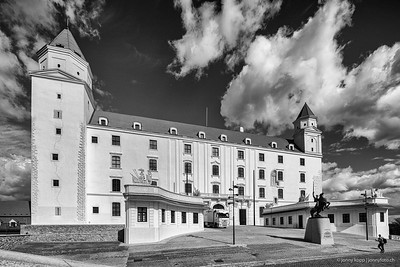 Bratislavský hrad (BW)