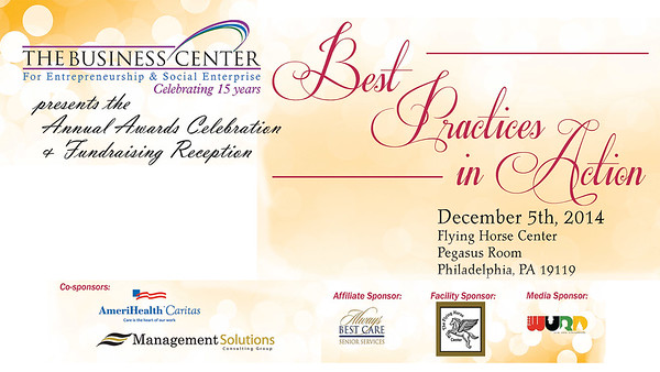 The Business Center-Best Practices 2014