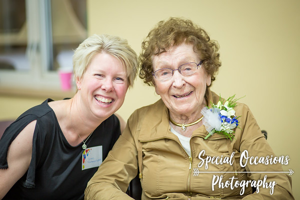 Margaret's 100th birthday party