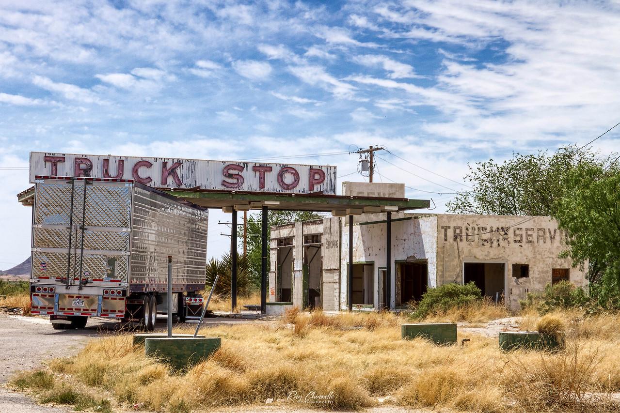 Truck Stop<br /> Sierra Blanca, Texas